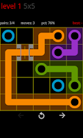 Screenshot of Circle Pie Cross - Flow Game