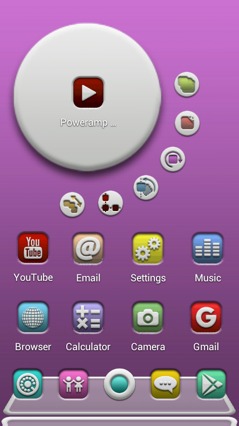 FROOP Next Launcher 3D Theme Screenshot 1