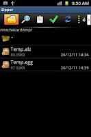 Screenshot of Zipper