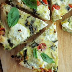 Chicken, Vegetable, and Ricotta Frittata