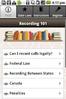 Screenshot of Record Phone Calls FREE