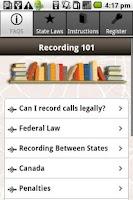 Screenshot of Record Phone Calls FREE