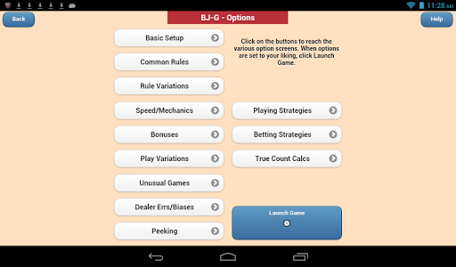 Blackjack Verite Games - screenshot