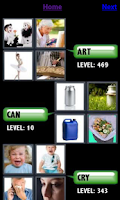 Screenshot of 4 Pics 1 Word Cheats & Answers