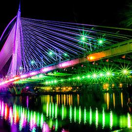 My Clorful Bridge by Syahrul Nizam Abdullah - Buildings & Architecture Bridges & Suspended Structures