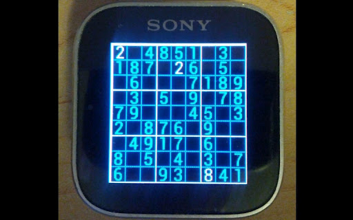 Sudoku for SmartWatch