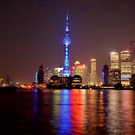 shanghai bund by Chantelle LAU - City,  Street & Park  Skylines