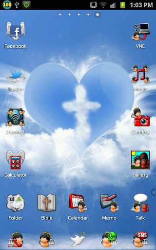 Christianity Go Launcher Theme