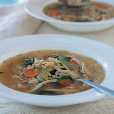 Chicken & Orzo Soup