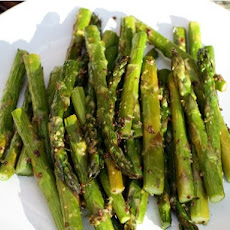 Old-Style Mustard and Rosemary Asparagus