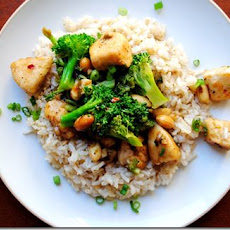 Lighter Kung Pao Chicken