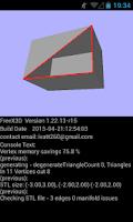 Screenshot of FreeX3D: VRML, X3D, STL Viewer