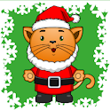 Preschool Christmas Kitty icon