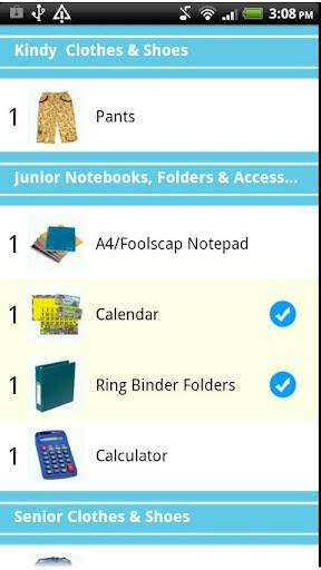【免費購物App】Back To School Shopping List-APP點子