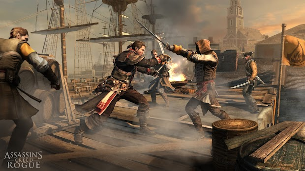 Ubisoft confirms Assassin's Creed: Rogue for PS3 and Xbox 360, screenshots and trailer released