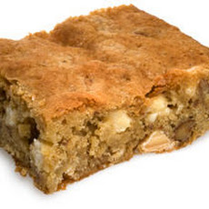 Nutty White Chocolate Blondies Recipe