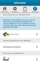 Screenshot of MedAlert