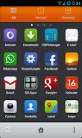 Screenshot of MIUI v5 HD GO Launcher Theme