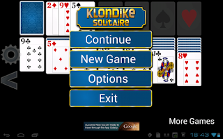 Screenshot of Klondike Solitaire HD