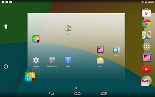Screenshot of KitKat Launcher Prime