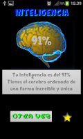 Screenshot of ¿Eres inteligente?