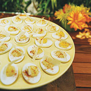 Cesar Deviled Eggs
