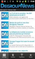 Screenshot of DegroupNews