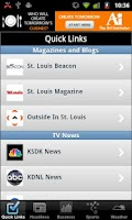 Screenshot of St. Louis Local News