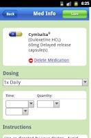 Screenshot of MyMedSchedule