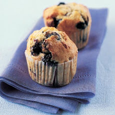 Blueberry & White Chocolate Muffins