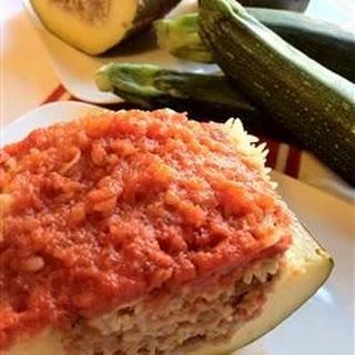 Stuffed Zucchini Lamb Rice Recipes