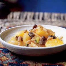 Khoshaf bil Mishmish (Macerated Apricots and Nuts)