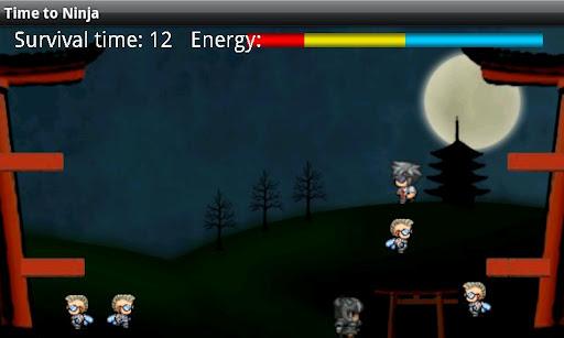 【免費街機App】Time to ninja-APP點子