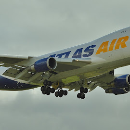 Atlas 74F EMA  by Mark Buck - Transportation Airplanes