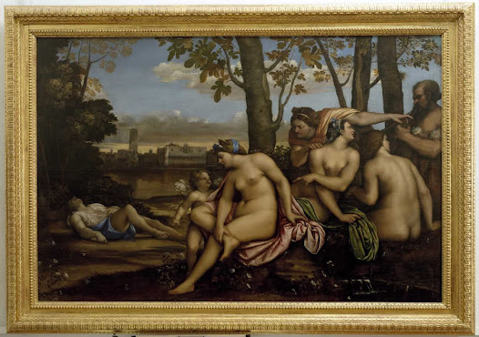 Piombo Sebastiano del, Morte d'Adone