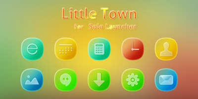 Screenshot of Little Town Icons & Wallpapers