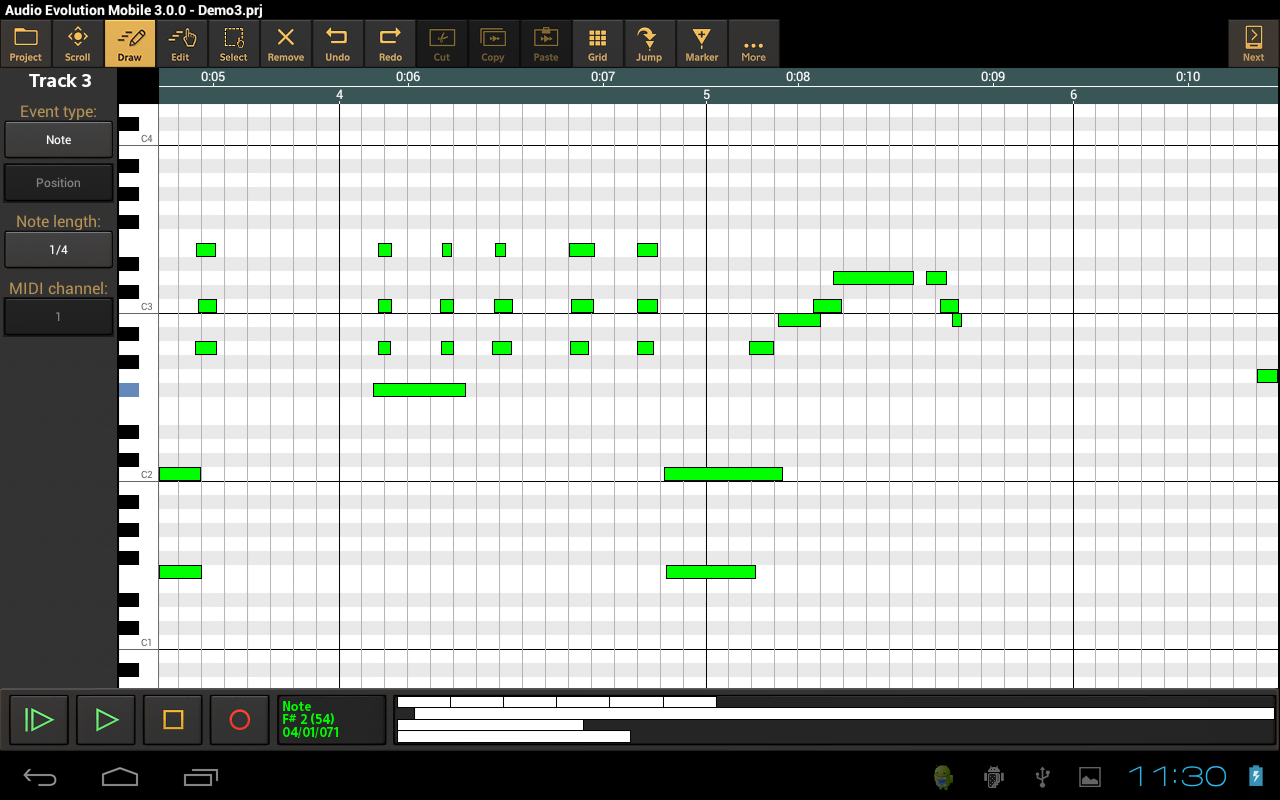 Audio Evolution Mobile Studio Screenshot 11