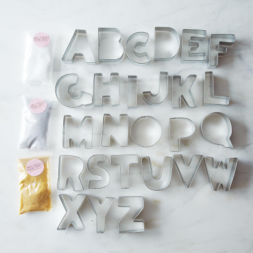 Alphabet Cookie Cutter Set