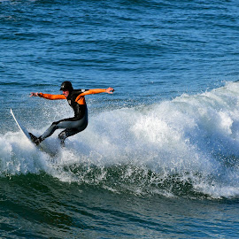 Surfer  by Jose Matutina - Sports & Fitness Surfing ( orange county, surfer, california, sea, ocean, huntington beach,  )