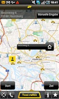 Screenshot of Taxi 24 Frankfurt