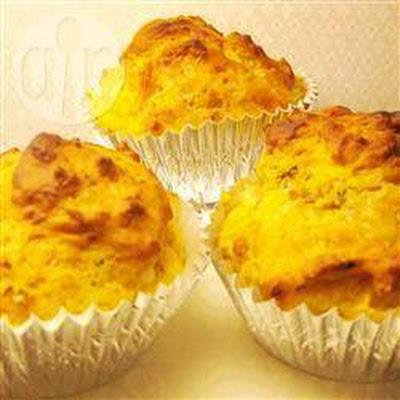 Savoury Cheese, Onion And Rosemary Muffins