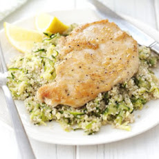 Chicken With Lemon & Courgette Couscous