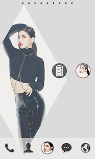 MissA Suji dodollauncher theme - screenshot