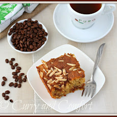 Cinnamon and Almond Swirl Coffee Cake with Puro Fairtrade Coffee