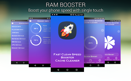 Fast Clean Speed Booster - screenshot
