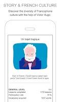 Screenshot of French lessons - Frantastique
