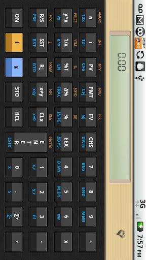 12C金融電卓