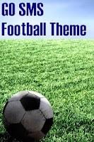 Screenshot of GO SMS Football Theme