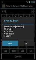 Screenshot of Base Convert (Converter)