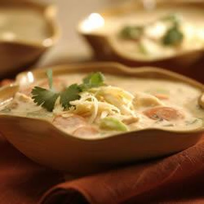 Smoky Southwest Chicken and Wild Rice Soup